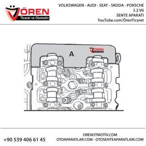 VOLKSWAGEN - AUDI - SEAT - SKODA -PORSCHE 3.2 V6 EKSANTRİK SENTE KİTLEME AYAR APARATI KULLANIM ŞEKLİ