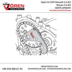 Opel 2.0 CDTi Renault 2.0 dCI Nissan 2.0 dCI SENTE APARATI KULLANIM ŞEKLİ
