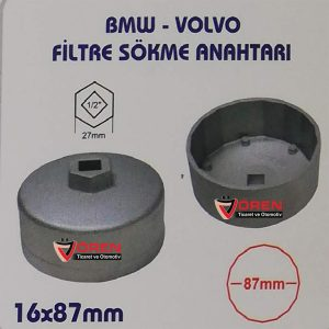 BMW- VOLVO FİLTRE SÖKME ANAHTARI